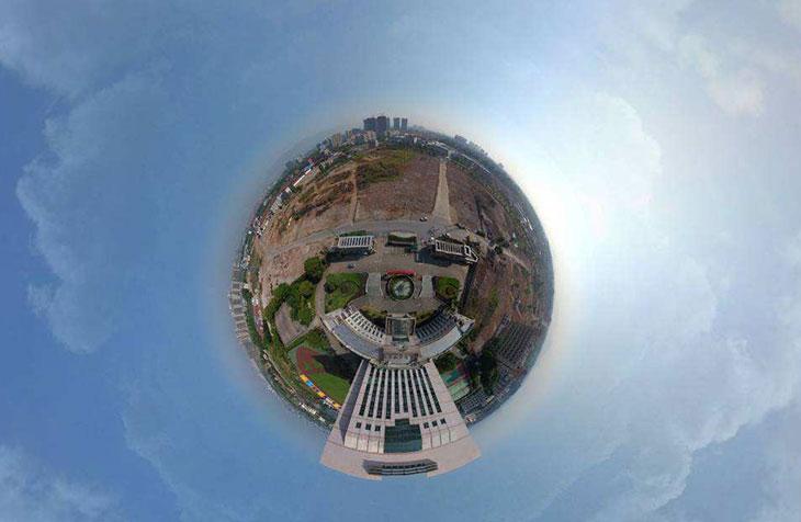 高校校园全景VR